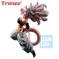 Tronzo Bandai Banpresto Original Action Figure DRAGON BALL FIGHTER Z Android NO 21 Majin Buu PVC Figure Model Toy DBZ Brinquedos