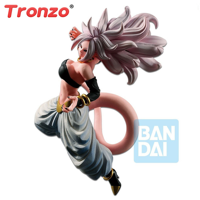 Tronzo Original Banpresto Action Figure Limited LUTADOR DE DRAGON BALL Z Android NO.19 21 DBZ Majin Buu PVC Modelo Figura Toys figural