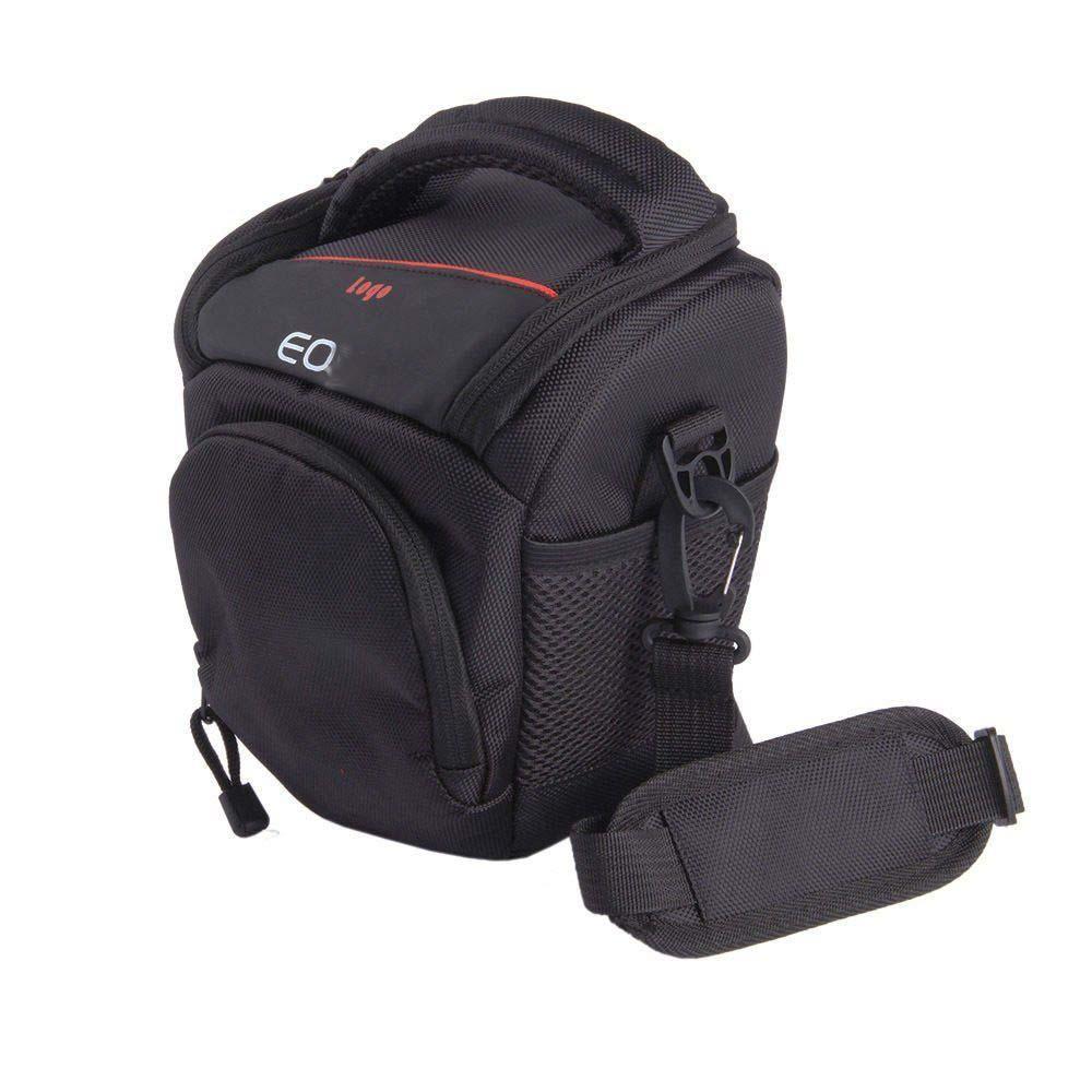 SLR Camera bag Shoulder Messenger Camera Case Bag For Canon EOS 1300D 1200D 1100D 800D 760D 750D 700D 80D 77D 70D 60Da 7D 6D 5Ds huwang dslr camera bag case for canon eos 1300d 5d 6d 7d ii iii 800d 77d 750d 60d nikon d3400 d5300 sony alpha a7 photo backpack