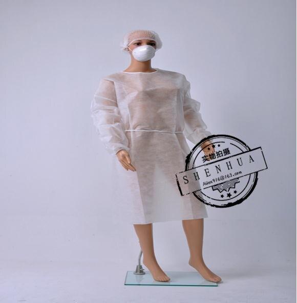 Vattentät stil 10st Cleanroom-arbetsplagg, förkläde, engångs - Säkerhet och skydd - Foto 1