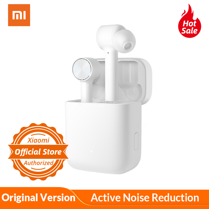 Original Xiaomi Bluetooth Earphone Air ANC ENC Active Noise Reduction TWS Touch Control Wireless Bluetooth Headset