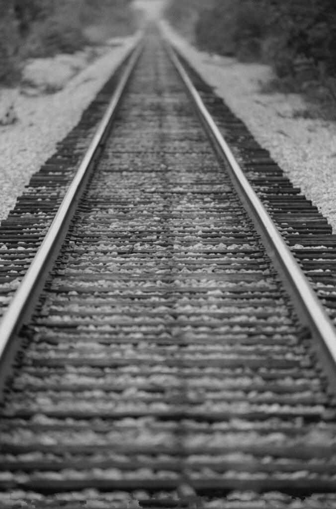 5x7ft Vinyl Custom Railway Theme Photography Backdrops Prop Photo Studio Background NTG-363