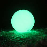 60/80/100cm Christmas Decor Large PVC Inflatable LED Lighting Balloon Remote Control/Touch Color Changing Led Throw Ball