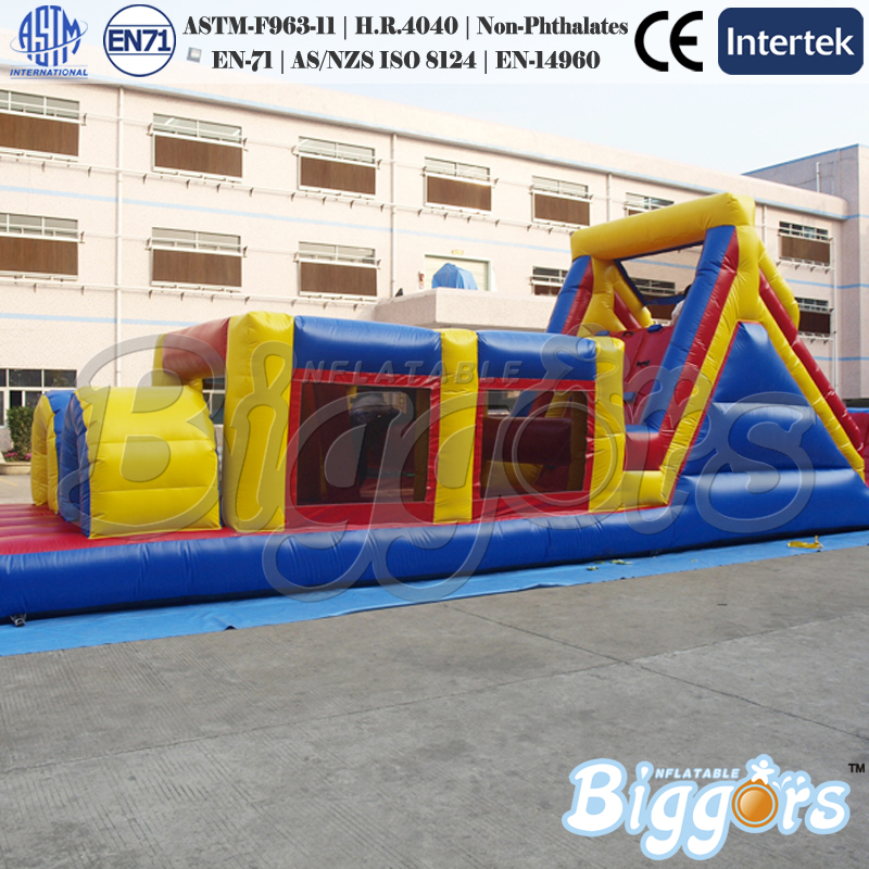 Free Sea Shipping Commercial Obstacle Course Run Races Inflatables with air blowers For Sale kettler run air