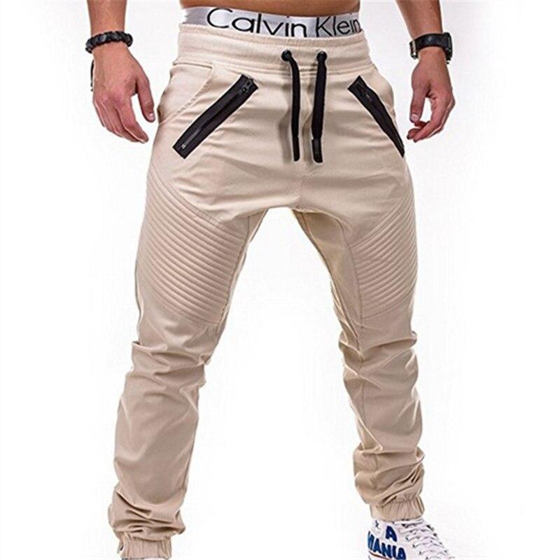 Männer casual hosen fitness Cargo Hosen Solide Khaki Atmungsaktive Sommer Große Größe Multi Tasche Lange Hosen Gespleißt Pantalon Homme