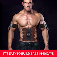 Muscle Trainer Electronic Abdominal Muscle Exerciser Machine Fitness Toner Belly Leg Arm Exercise USB Charge Workout Equipment