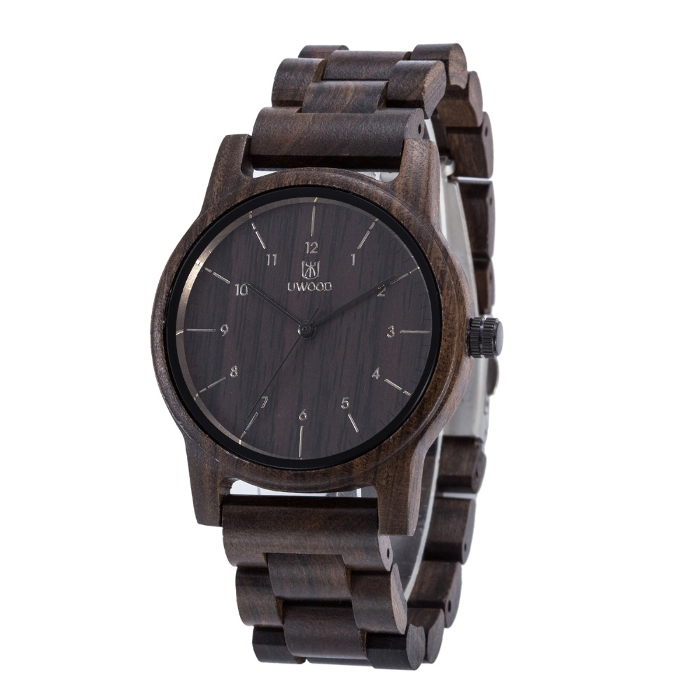 Fashion Nature Wooden Wrist Watch Men Analog Sport Black Sandal Wood Watches Luxury Casual Watch Brand For Men Women best Gifts dom men watch top luxury men quartz analog clock leather steel strap watches hours complete calendar relogios masculino m 11 page 5