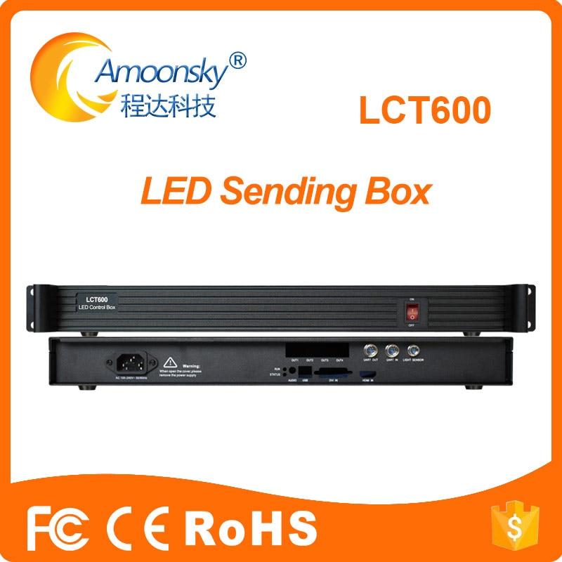 LCT600 led display external sending box support novastar msd600,msd300, novastar receiving card MRV366 MRV328 MRV300, mctrl300 цена и фото