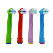 Hot 4pcs Replacement Kids Children Tooth Brush Heads For Oral B EB-10A Pro-Health Stages Electric Toothbrush Head недорого
