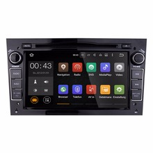 7 Inch Android 5.1.1 Black Color Car DVD Player For Opel Vauxhall Corsa Capacitive Touch Quad Core 1024*600 Free MAP Multimedia