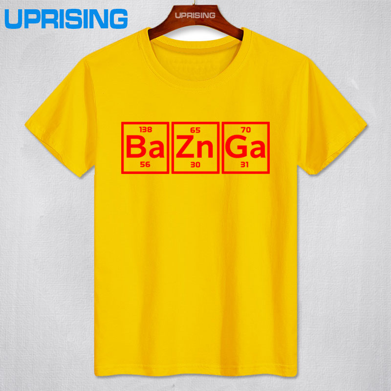 Kick ass bazinga element periodic table t shirt urtaz Images