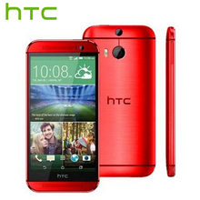 AB Sürüm HTC ONE M8 Cep Telefonu Quad Core 2 GB RAM 16/32 GB ROM 5.0 inç 1920×1080 P 3 Kamera 2600 mAh Android Akıllı Telefon