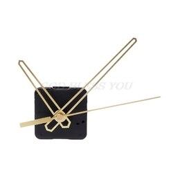 Quartz Clock Movement Mechanism Hands Wall Repair Tool Parts Silent Kit Set DIY Gold Pointer 40