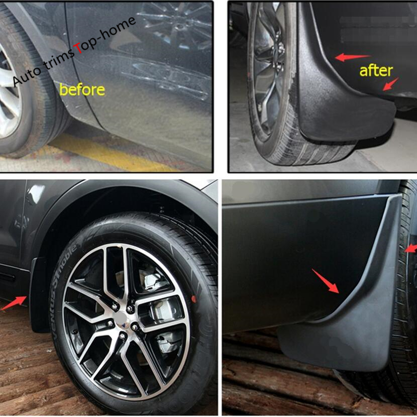 Car Fenders Mudguards Mud Flaps Splash Guards Protective Fender Mudflaps Fit For Macan 2014-2017