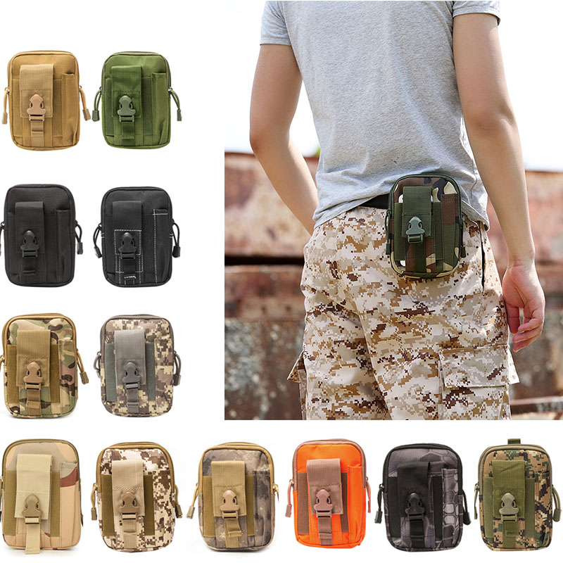 2019 New Casual Multifunction Waist Backpack Tactical Pouch Belt Bag For Travel WML99
