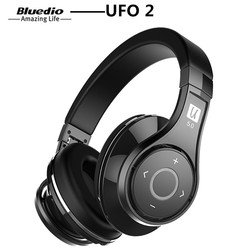 Bluedio U UFO 2 High-End Bluetooth Headphone Patented 8 Drivers HiFi Wireless Headset Supported APTX And Voice Control