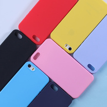 Luxury Soft Matte Color Case For iPhone X XS Max XR 5 5S SE 7 8 Plus 6 6S Case Coque Shockproof TPU Silicone Back Covers Capas цена и фото
