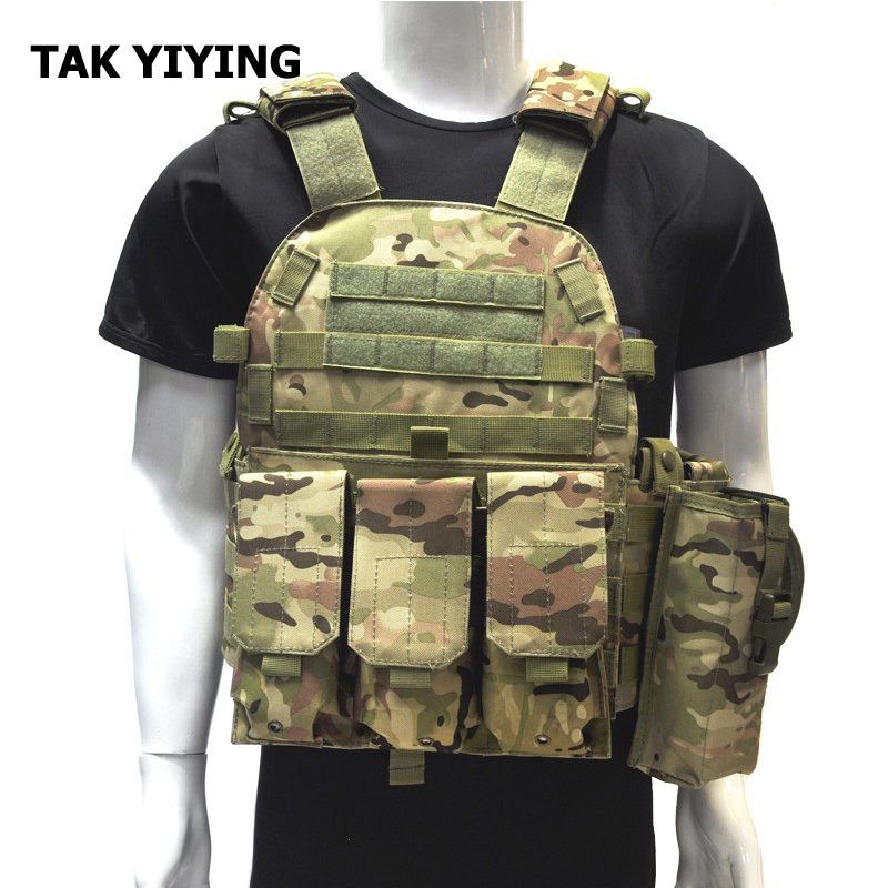 ФОТО TAK YIYING Militaria Ciras mar Vest With Tactical Triple AR15 M4 5.56mm Magazine Army Training Combat Uniform CS Outdoor
