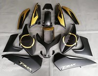 T MAX 500 08 11 Motorcycle Fairing Kit For Yamaha TMAX500 TMAX 500 2008 2009 2010 2011 Injection Bodywork Cowl Cover Gold