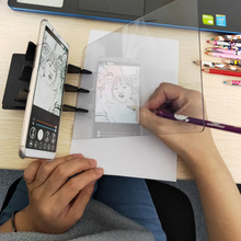 Painting copy board Kid Art Drawing Panel  Tracing Board Copy Pad Crafts Portable Zero-based Painting Mould Anime Sketch Tool
