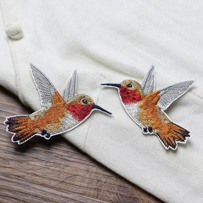 1 Piece κέντημα πτηνών patch για ρούχα - Τέχνες, βιοτεχνίες και ράψιμο - Φωτογραφία 2