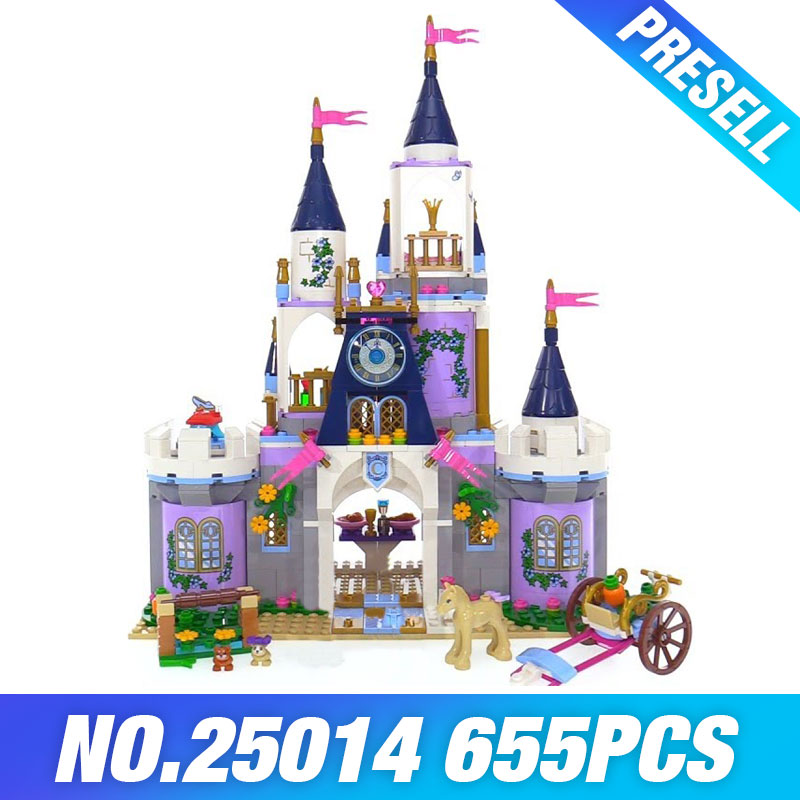 Lepin 25014 New Toys 655Pcs Movie Series The 41154 Dream Castle Set building Blocks Bricks Educational Funny Toys For Kids Gifts new lepin 01018 515pcs girl series castle educational building blocks bricks toys gril toy