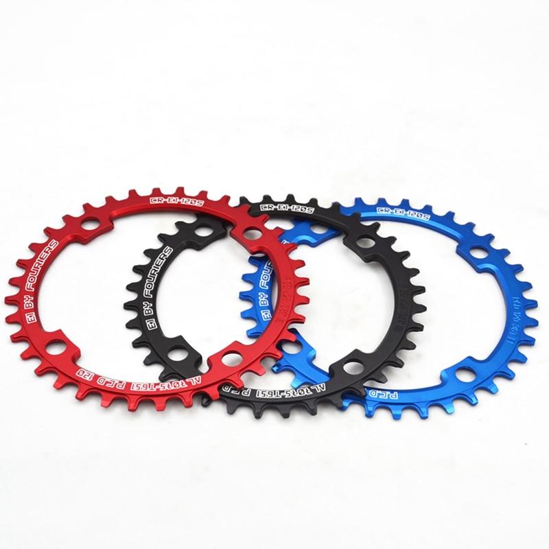 Fouriers Bicycle Round Chainwheel Single Chainring BCD120mm 36T 38T 40T 42T 44T 46T 48T 1 x Speed Chain Ring Chain Wheel