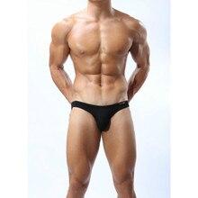 Men Briefs Cotton Men Underwear Briefs Sexy Solid Men Gay Briefs Shorts Cueca Underpants Calzoncillos Hombre цена