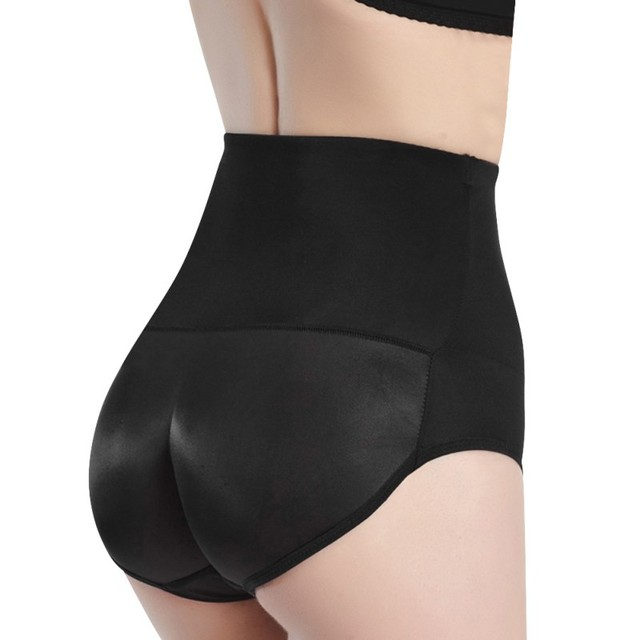 6a3913adbe8 High Elastic Body Shaper Buttocks Hip Lift Padded Women s Panties Knickers  Firm Control Panties Waist Shapers Plus Size