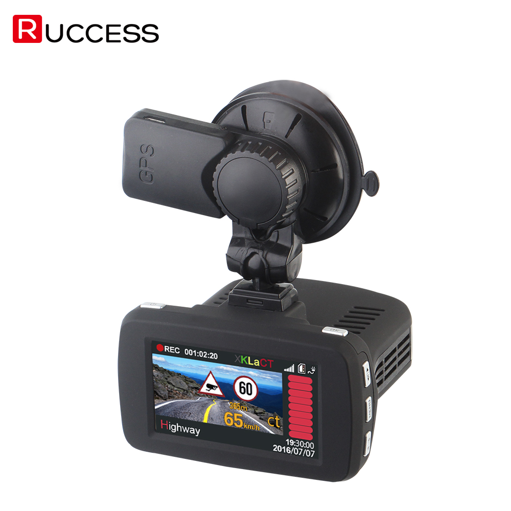 Radar Detector App >> 3 In 1 Ambarella A7LA50 GPS Car Camera DVR DVRS Anti Radar Car Detector Dash Cam Video Recorder ...