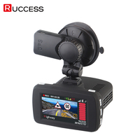 Ambarella A7LA50 Radar Car DVR GPS Car Camer Detector Dash Cam Video Recorder Camcorder 1296p Speedcam