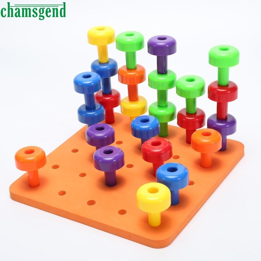 Fine Motor Toys : Hot pcs peg board set montessori therapy fine motor toy