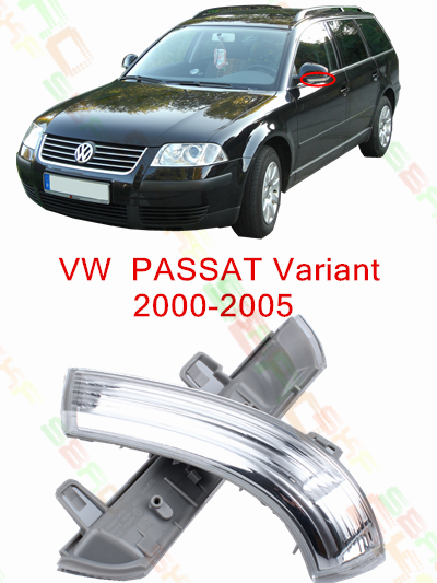 купить For Volkswagen VW Passat B5 Variant 3B6 2000-2005 Led Car Styling Side Mirror With Indicator Turn Signals Lights 1K0 949 101/102 дешево