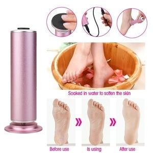 Image 5 - เท้าไฟฟ้าแคลลัส Remover เท้าไฟฟ้า Pedicure ไฟล์เครื่อง Feet Care 60 PCS กระดาษทรายฟุต Dead Skin แคลลัสกำจัด