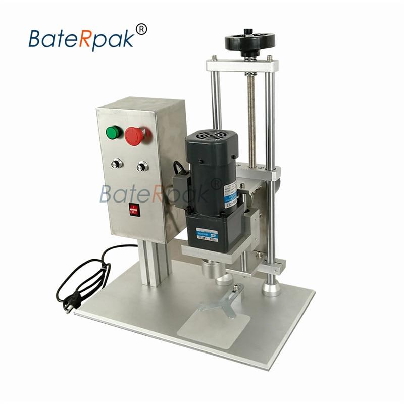 DDX-450A electric desktop capping machine,Water bottle capping machine,BateRak pbottle lid locking machine,110V/220V optional Бутылка