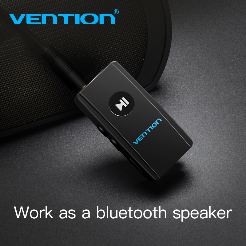 Vention Wireless Bluetooth Receiver 4.2 Aux 3.5mm Bluetooth Audio Receiver Music Adapter for Car Stereo Headphone Speaker MP3