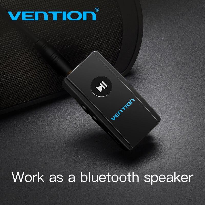 Vention receptor inalámbrico Bluetooth 4,2 Aux 3,5mm Bluetooth receptor de Audio adaptador de música para auriculares estéreo de coche altavoz MP3