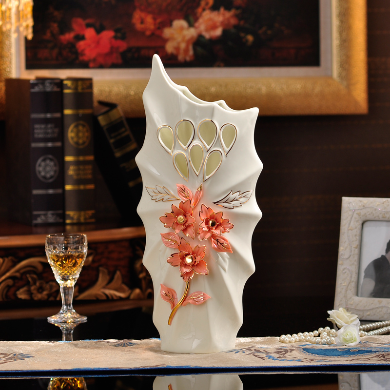 Popular red floor vase buy cheap red floor vase lots from for Where can i find cheap home decor