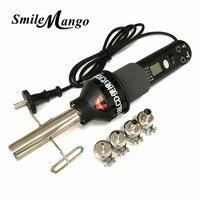 220V 450W LCD Adjustable Electronic Heat Hot Air Gun Hair Dryer Soldering Station IC SMD BGA