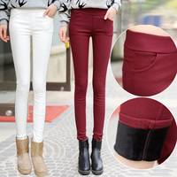 Money Can T Afford To Add Hair Thickening Leggings Qiu Dong Ms Ball Cotton Trousers To