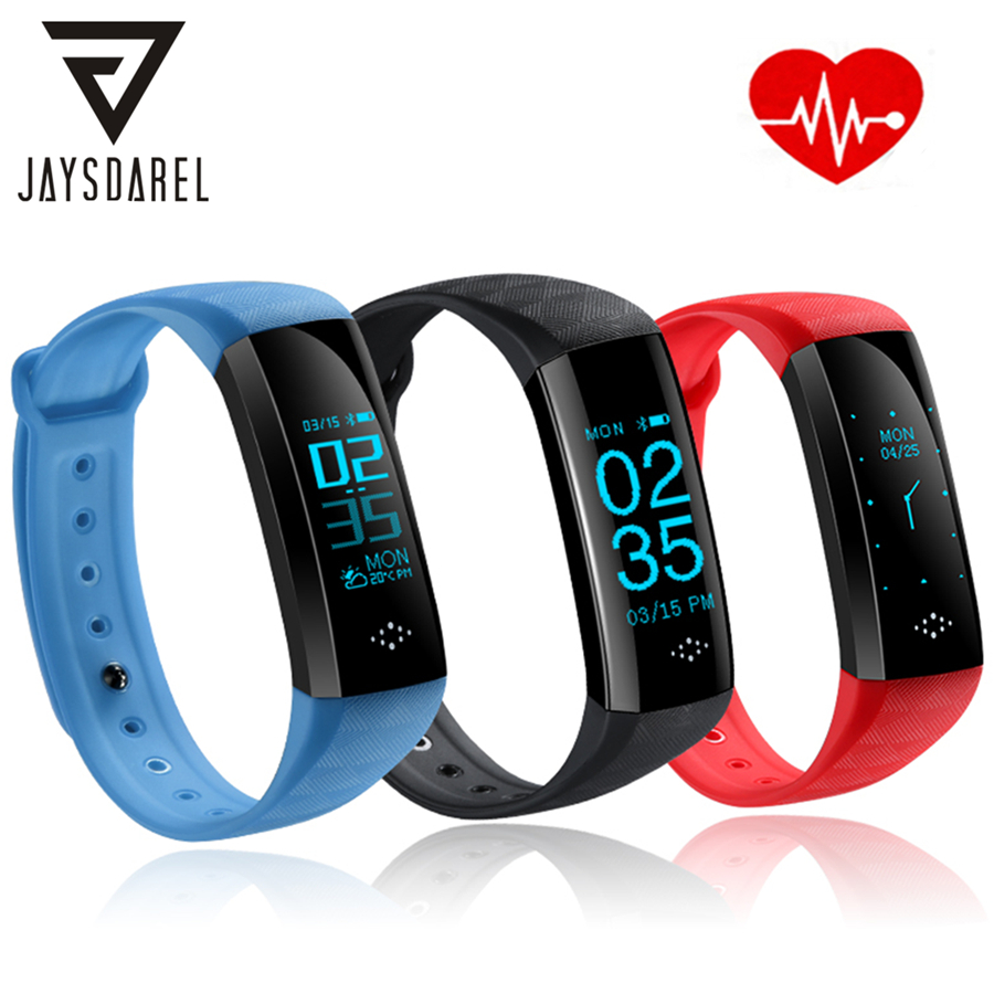 JAYSDAREL M2S Heart Rate Blood Pressure Monitor Smart Watch OLED Screen Blood Oxygeon Smart Bracelet for Android iOS jaysdarel heart rate blood pressure monitor smart watch no 1 gs8 sim card sms call bluetooth smart wristwatch for android ios