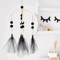 32*45cm Kids Room Decoration Nordic Ball Wall Hanging Play Tent Decoration Props Pendants Ornaments 18092204