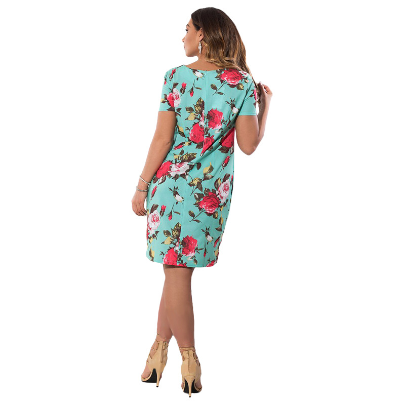 HTB1wNCMXnzGK1JjSspjq6AHWXXa8 2019 Autumn Plus Size Dress Europe Female Fashion Printing Large Sizes Pencil Midi Dress Women's Big Size Clothing 6XL Vestidos