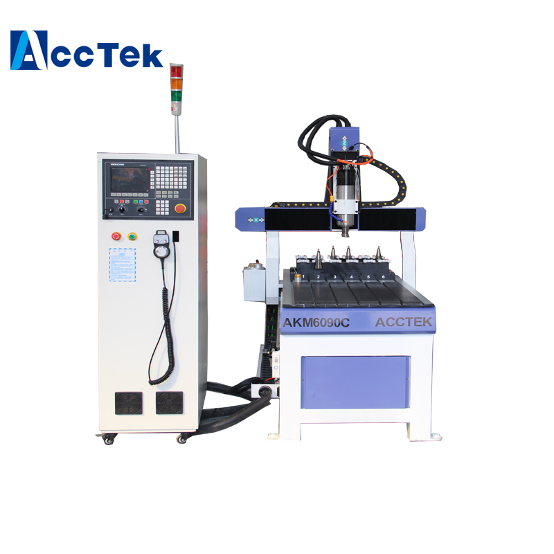 Small ATC CNC ROUTER Wood Furniture Making Machine , Mini Automatic 3D Cnc Router For Wooden Carving
