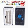 PIC18F25K80 ELM327 V1.5 ELM 327 Bluetooth Мини OBD2 Код Читателя С Выключателем Питания Для Android Windows Автомобиля Диагностический Сканер