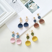 Fashion statement earrings tassel fashion female 2018 delicate eardrop gift jewelry wholesale