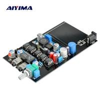 AIYIMA E11 Portable headphone amplifier board Class A Using original JRC5532. amplifier Headphone Amplifier with Potentiometer