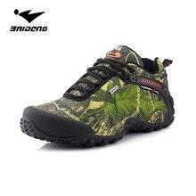 Impermeables hombres zapatos para caminar al aire libre pesca camping caza camuflaje montañismo top deportivo zapatos de senderismo de agua