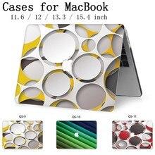 Модная для ноутбука MacBook ноутбук новая Крышка корпуса для MacBook Air Pro retina 11 12 13 15 13,3 15,4 дюймов сумки для планшетов Torba