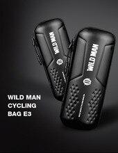 WILD MAN Road Bicycle Bag MTB Rainproof Bike Bottle Repair Tools Kit Built-in Mesh Cycling Accessories